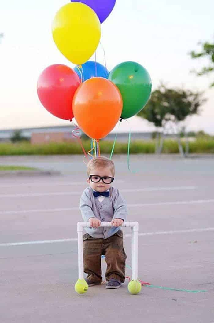 Carl from UP DIY Halloween Toddler Costumes