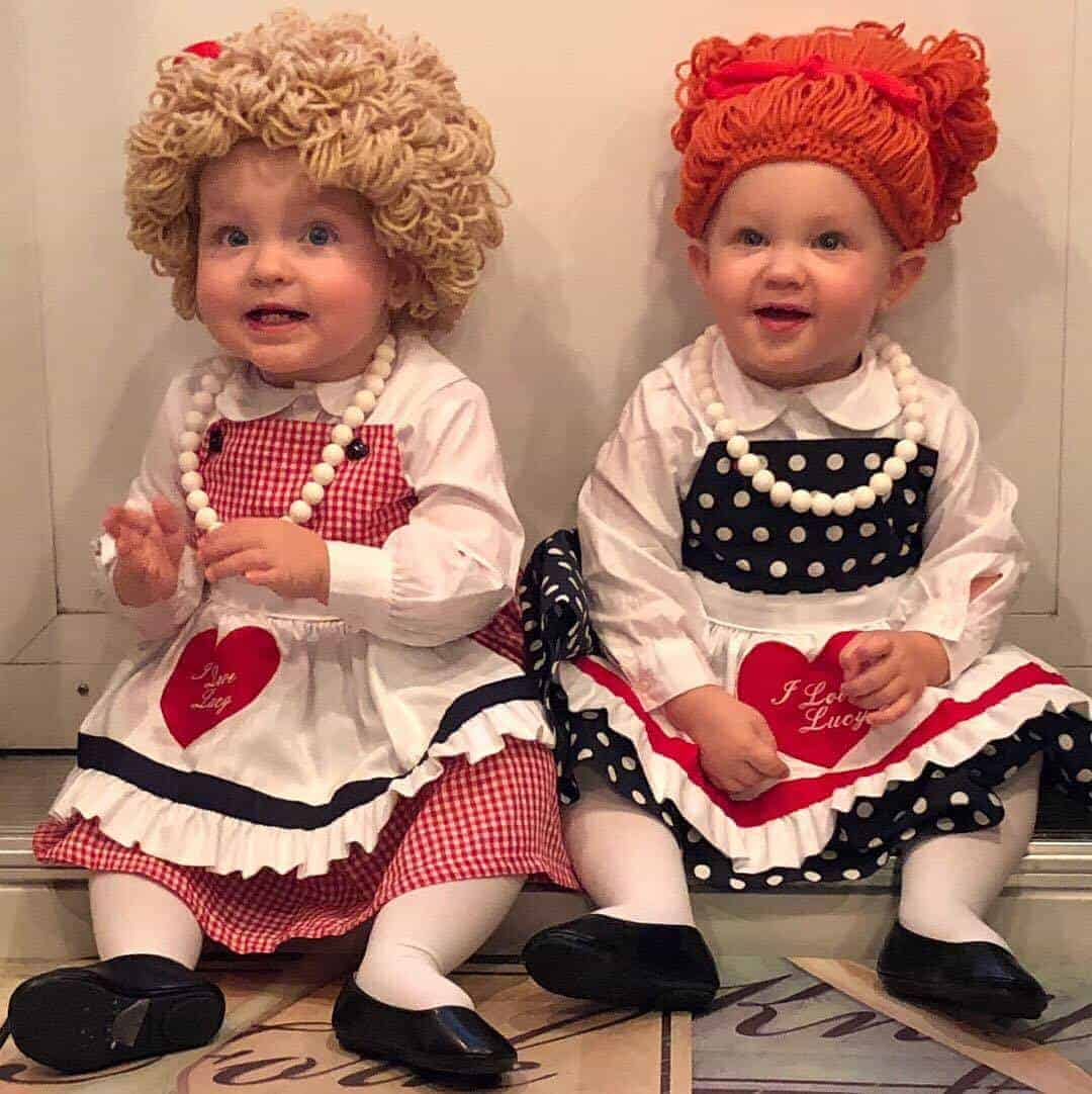 Lucy and Ethel I Love Lucy Toddler Costume
