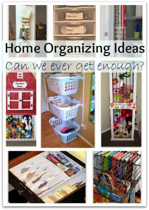 Home organizing ideas can we ever get enough of them Easy diy storage ideas for small homes