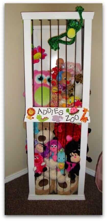 stuffed animal organizer
