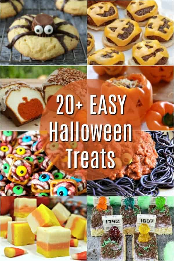 Easy Halloween Treats - perfect for Halloween parties