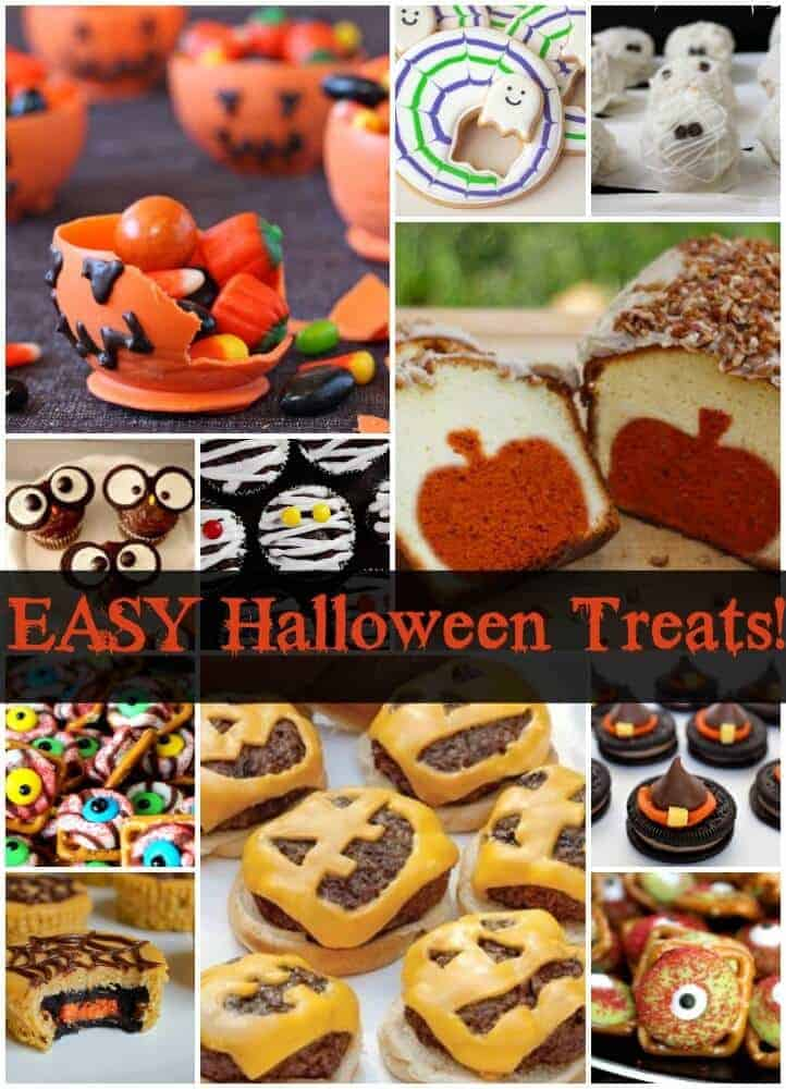 Super cute and easy Halloween treats!