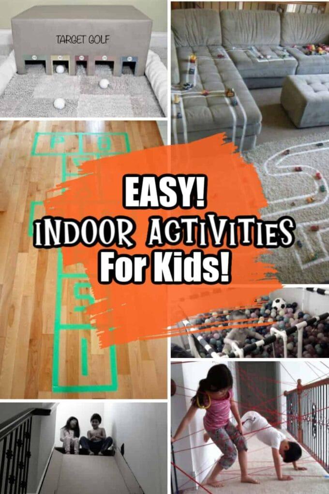 More easy indoor activities for kids