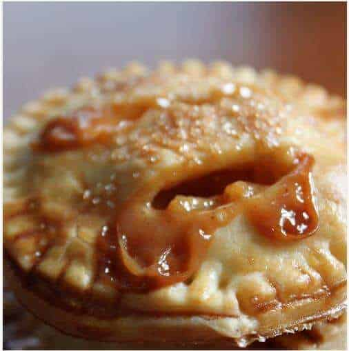 caramel apple pies image