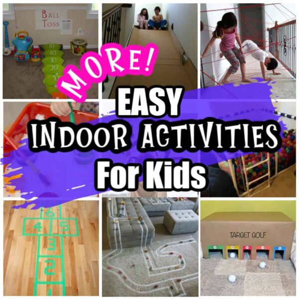 More easy indoor activities for kids