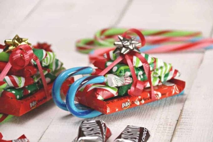 Candy Cane Sleighs | Festive Edible Gifts To Make And Give This Season