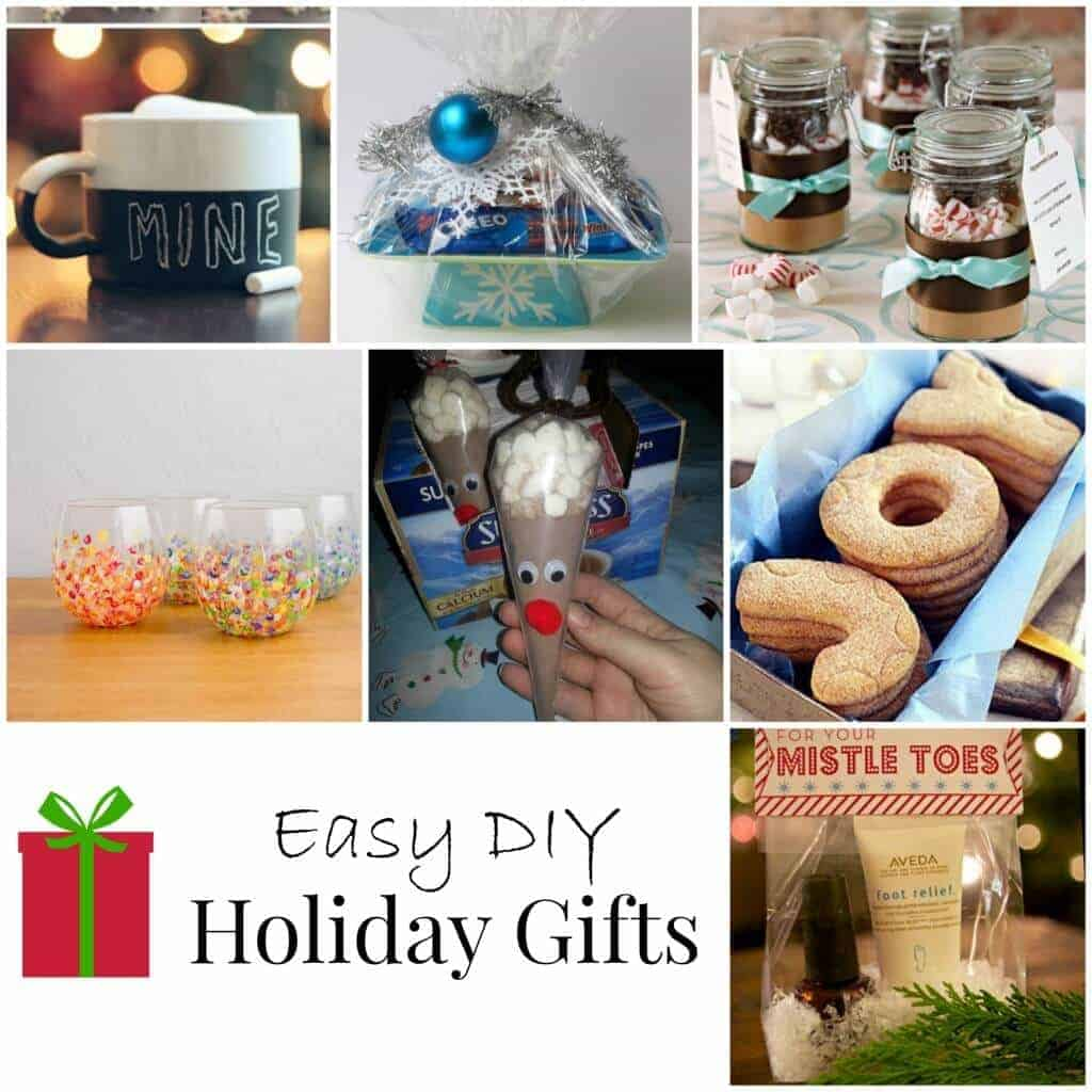 Quick and easy DIY holiday gifts!