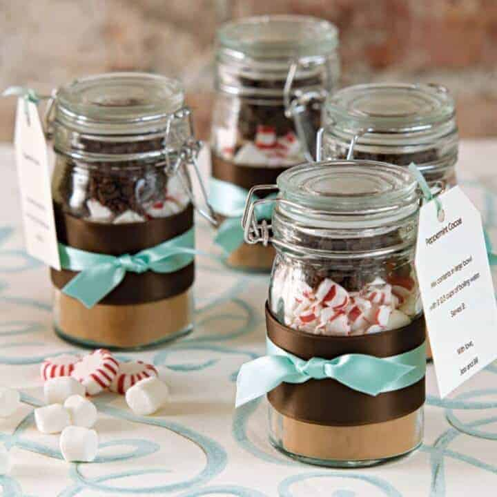 DIY Hot Chocolate in a Jar