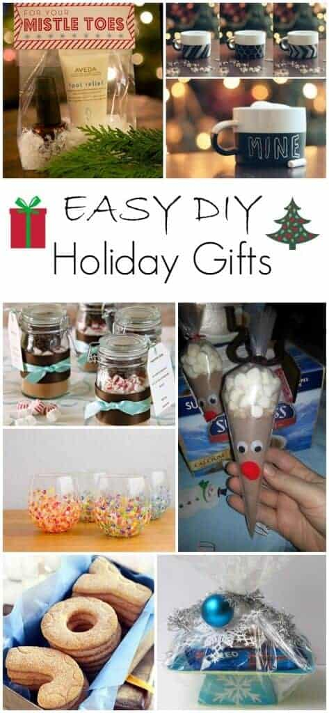 Easy DIY Holiday Gifts!