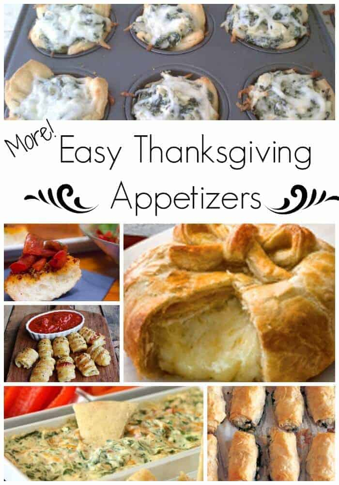 More Easy Thanksgiving Appetizers - can't get enough