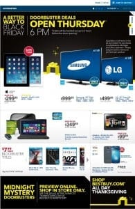 black friday best buy ad