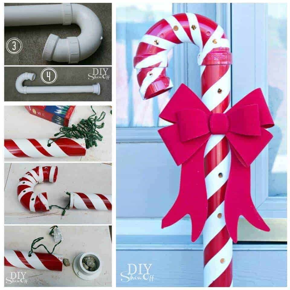 PVE Candy Cane from DIY Showoff