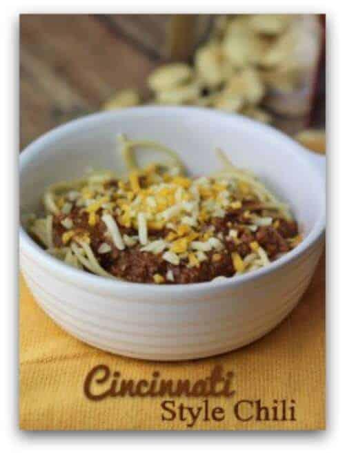 Easy Crockpot Recipes - Cincinnati Style Chili