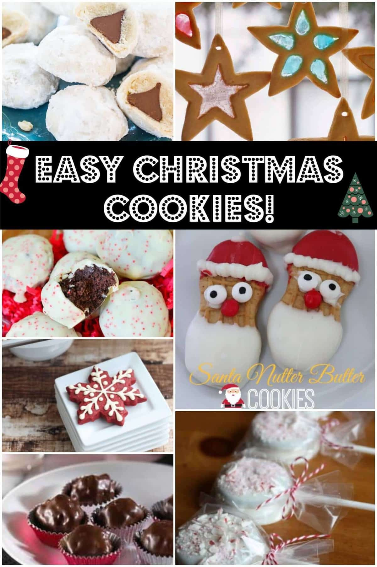 Fun And Easy Christmas Cookies Recipes — Dishmaps