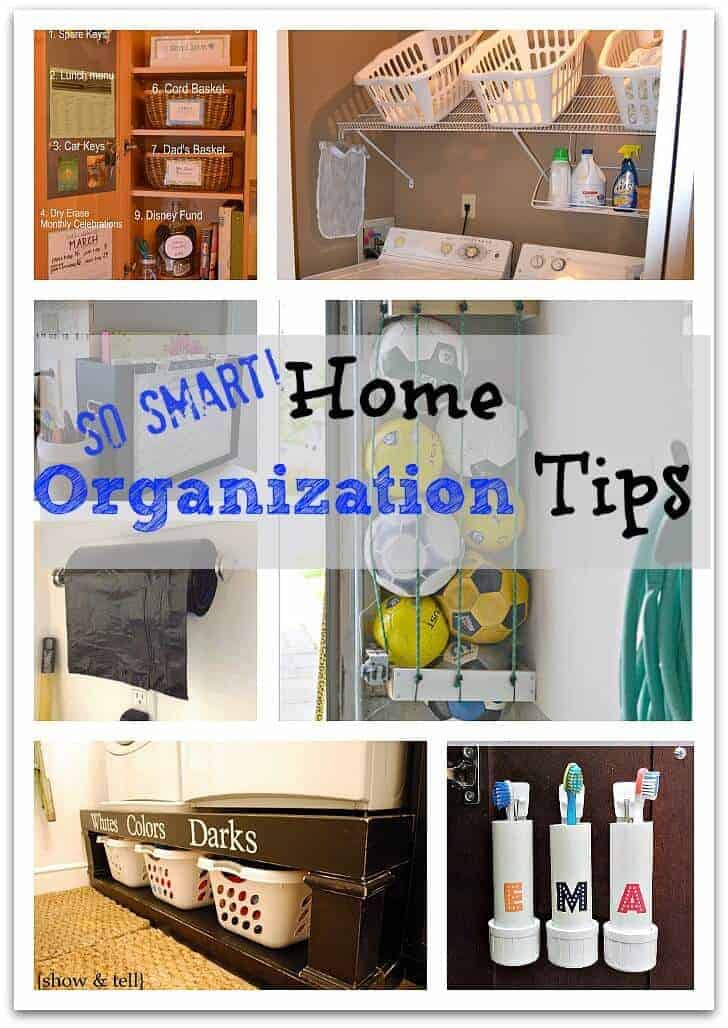 Home Organization Ideas 4 Videos. Home Organization 5 Videos. Storage + Organization Ideas for the Whole Family 17 Videos. Holiday Organizing Essentials 3 Videos. Organization and Storage 13 Videos. Get Organized Kids 5 Videos. Back-to-School Organizing Essentials 4 Videos. Quick and Easy Decorating Projects 8 Videos.