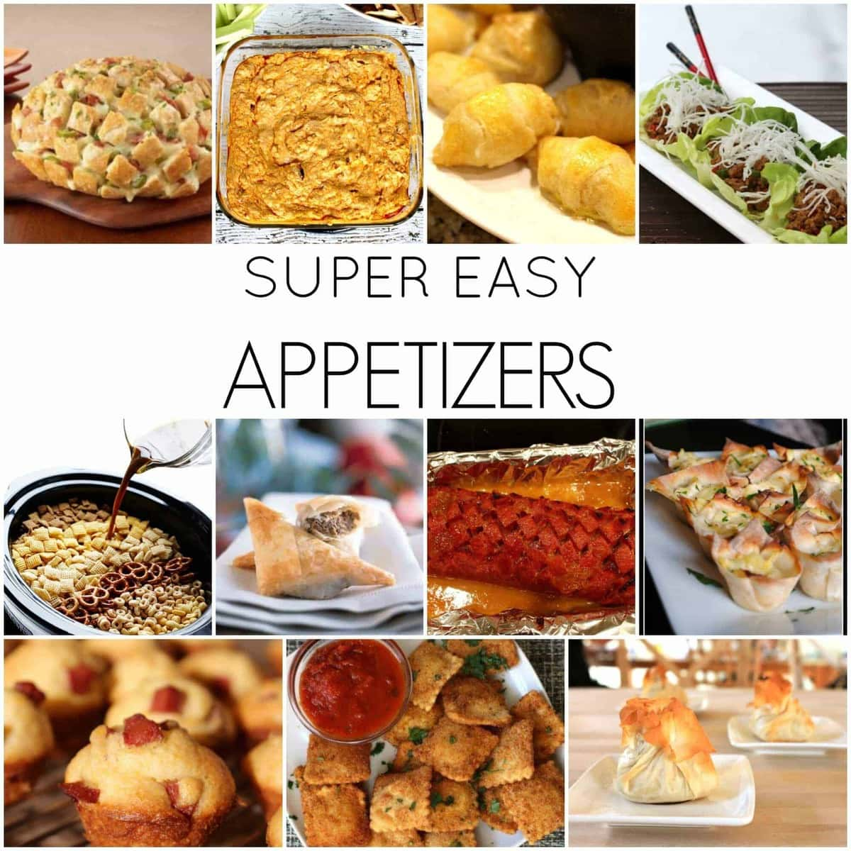 Easy Appetizers For New Year's Eve!