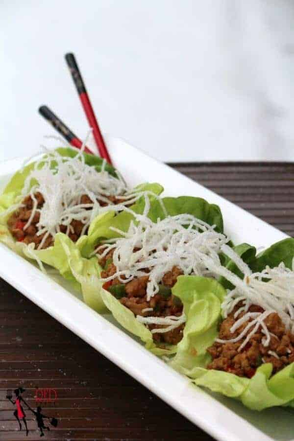 chicken lettuce wraps_- just like PF Changs
