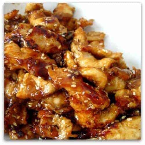 Easy Crockpot Recipes - crockpot chicken teryaki