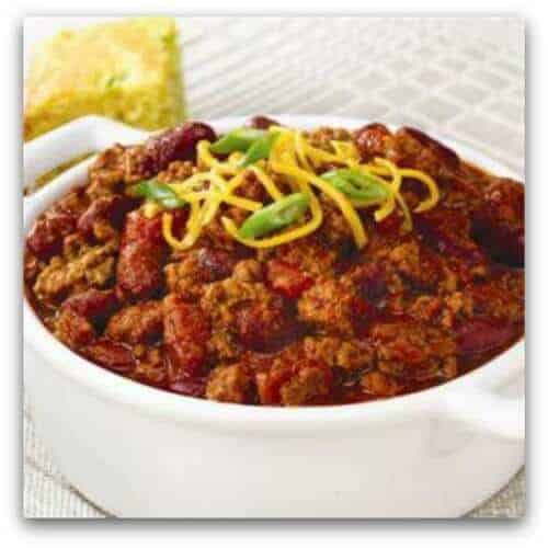 Easy Crockpot Recipes - crockpot chili