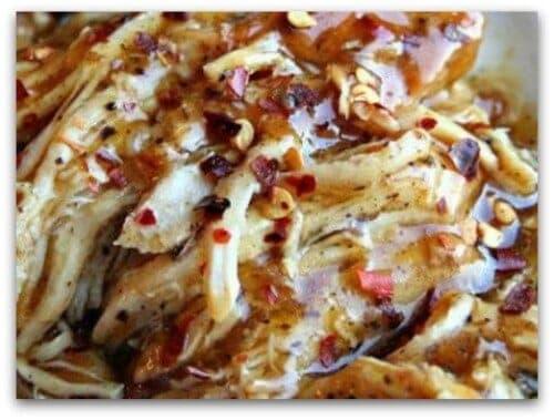 Easy Crockpot Recipes - crockpot sweet garlic chicken
