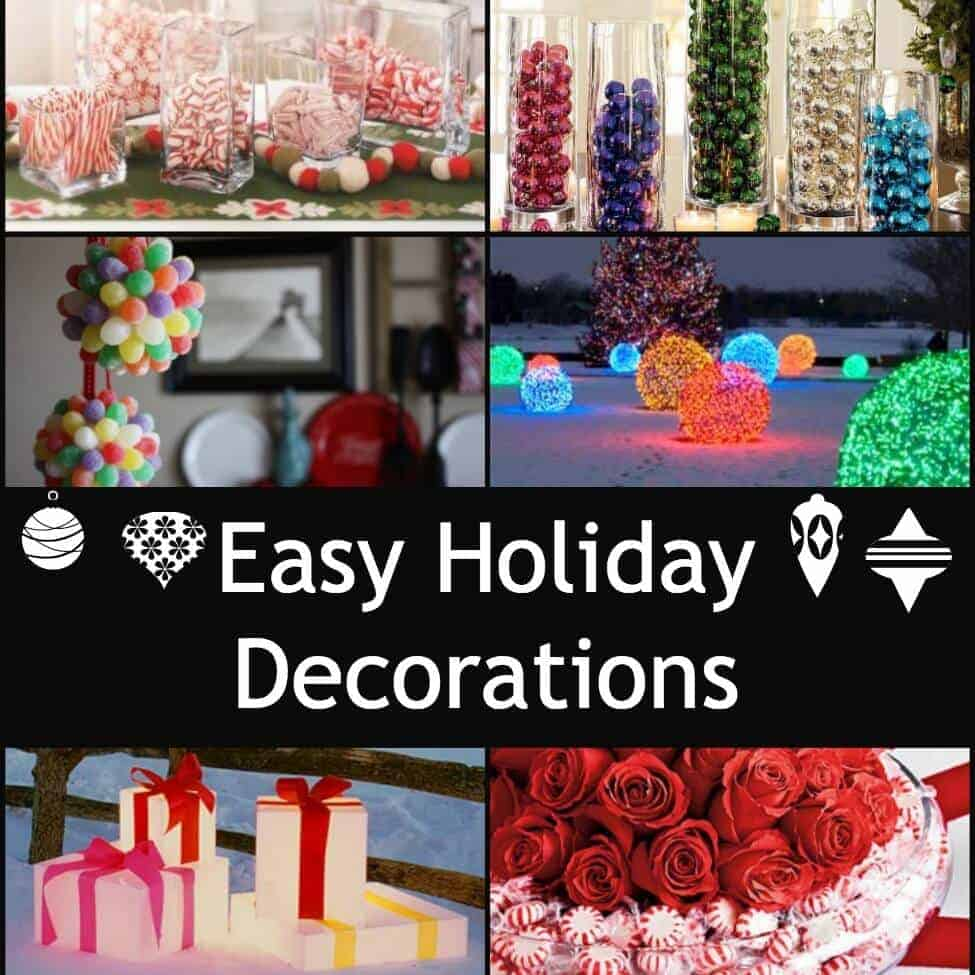 even more easy holiday decorations sq