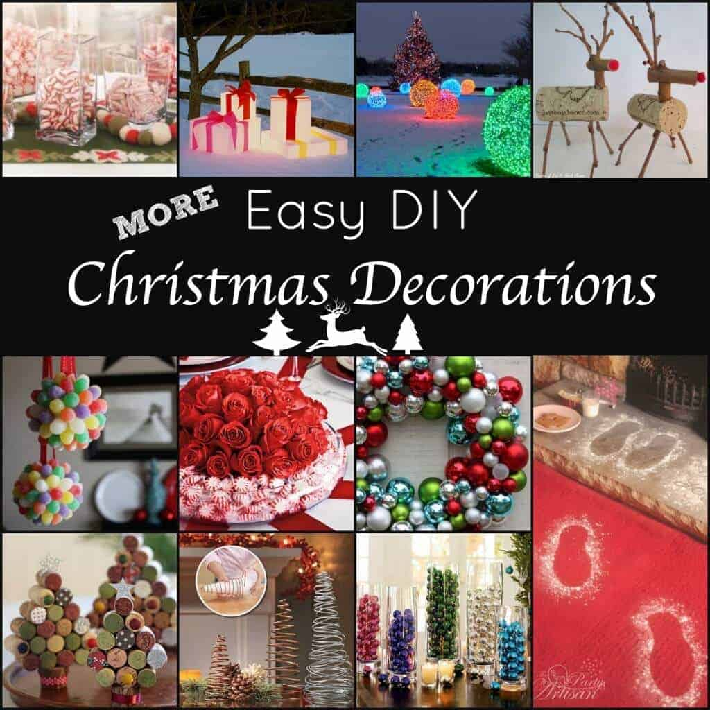 Top easy to do christmas decorations