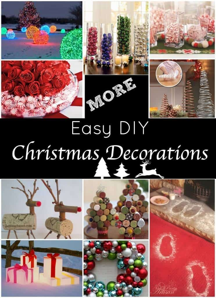 The Best Diy Holiday Decor On Pinterest Princess Pinky Girl