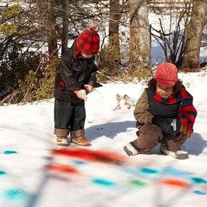 snow-paint