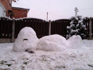 snow-snoopy