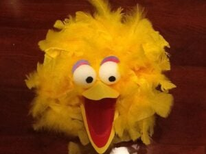 tissue paper big bird