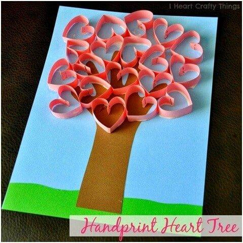 hand-print-love-tree