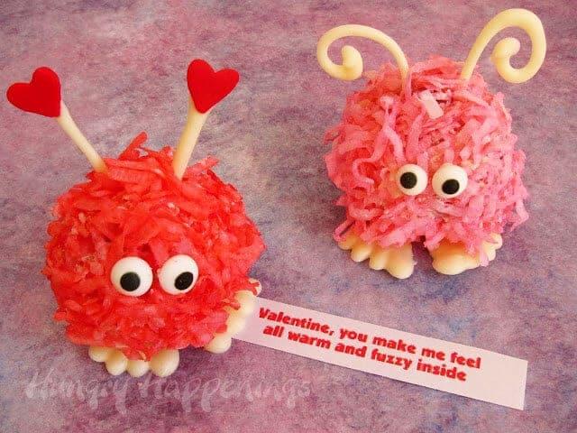fuzzy cake balls