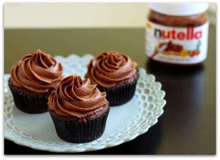 Chocolate-Nutella-Cupcakes