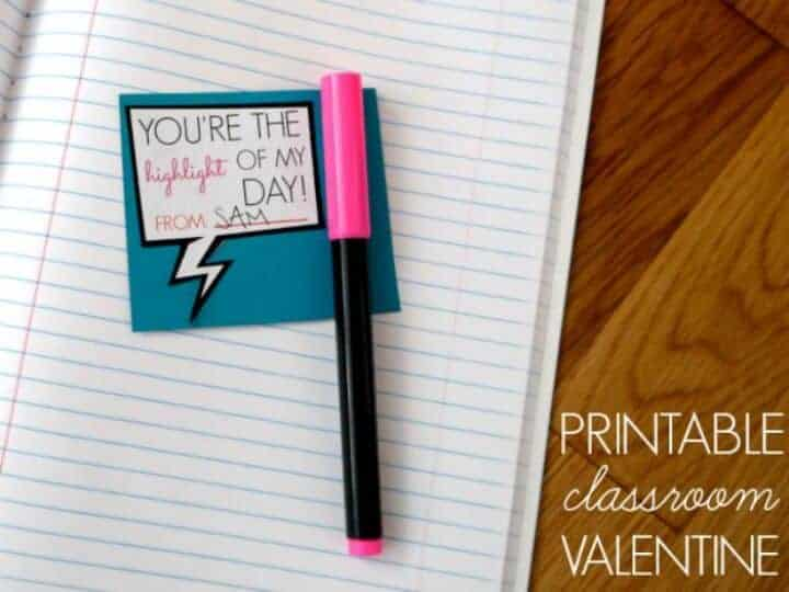highlighter-valentine