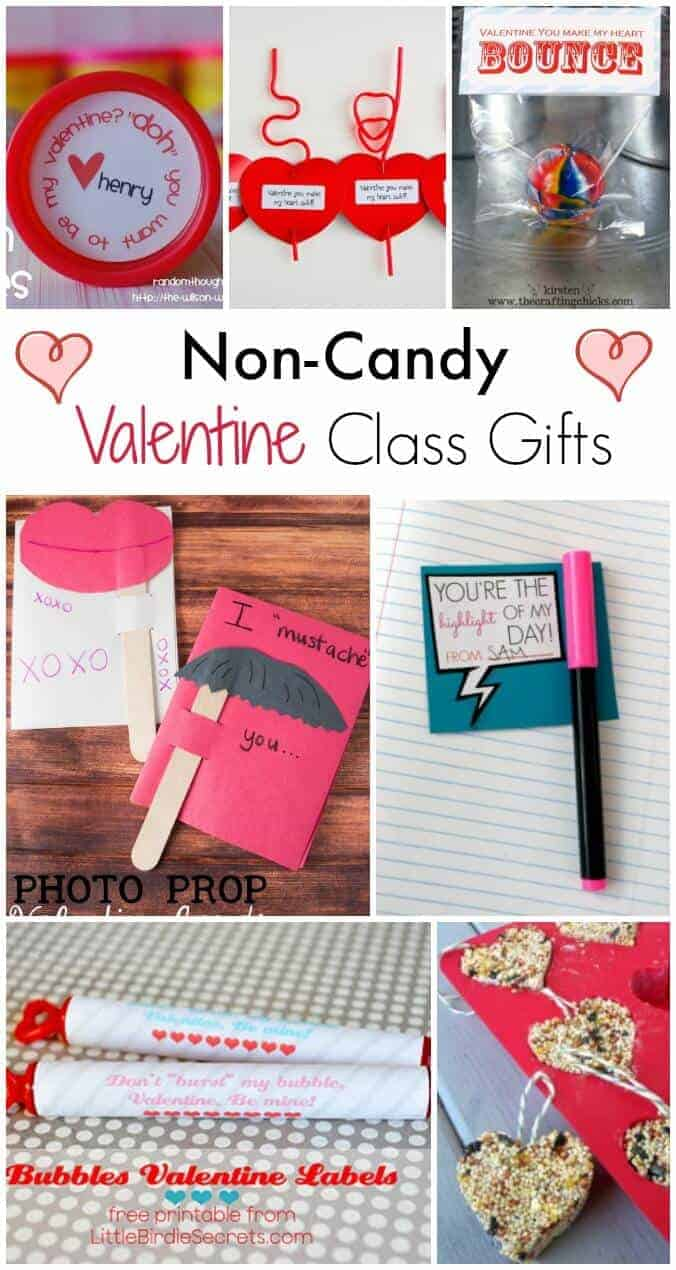 Non Candy Valentines day class gifts