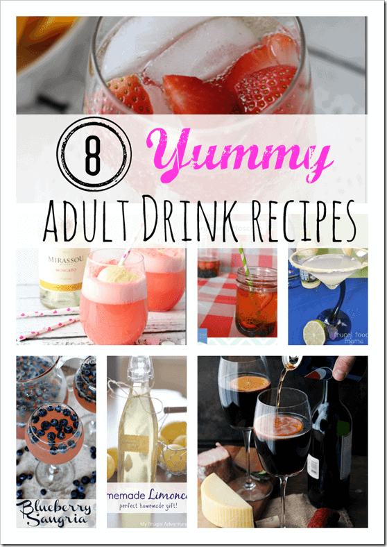 Adult Drink Recipes, Wine Recipes, Spritzer Recipes