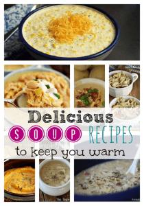 8 Delicious Soup Comfort Food Recipes