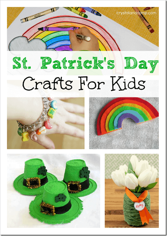 St. Patrick's Day Crafts For Kids, St. Patrick's Day Crafts