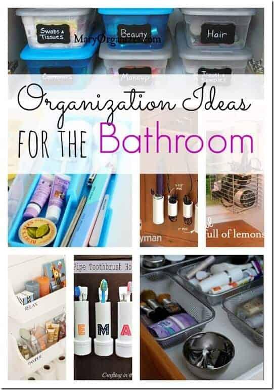 Organization ideas for the bathroom princess pinky girl for Bathroom organization ideas pinterest