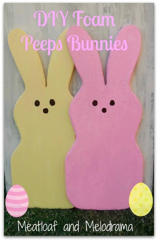 DIY Peeps - Fun Easter Projects