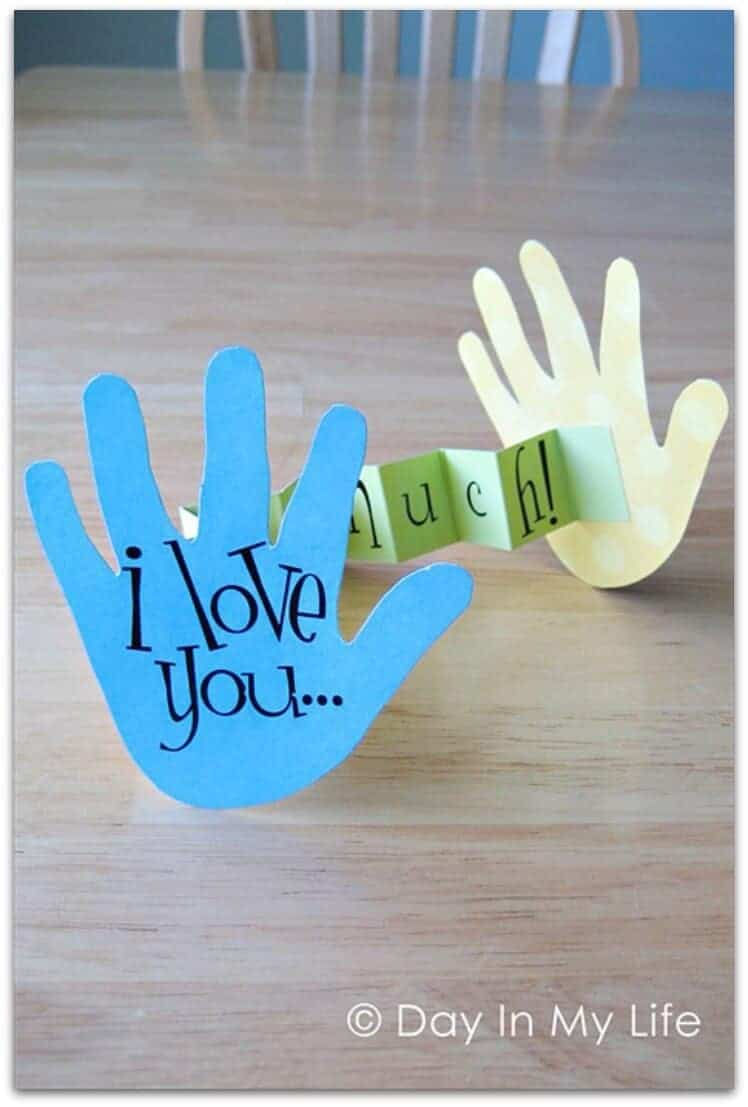 I love you this much craft