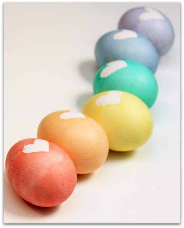 Masking Tape Eggs