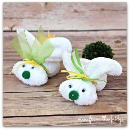 Wash Cloth Bunnies - Fun Easter Projects