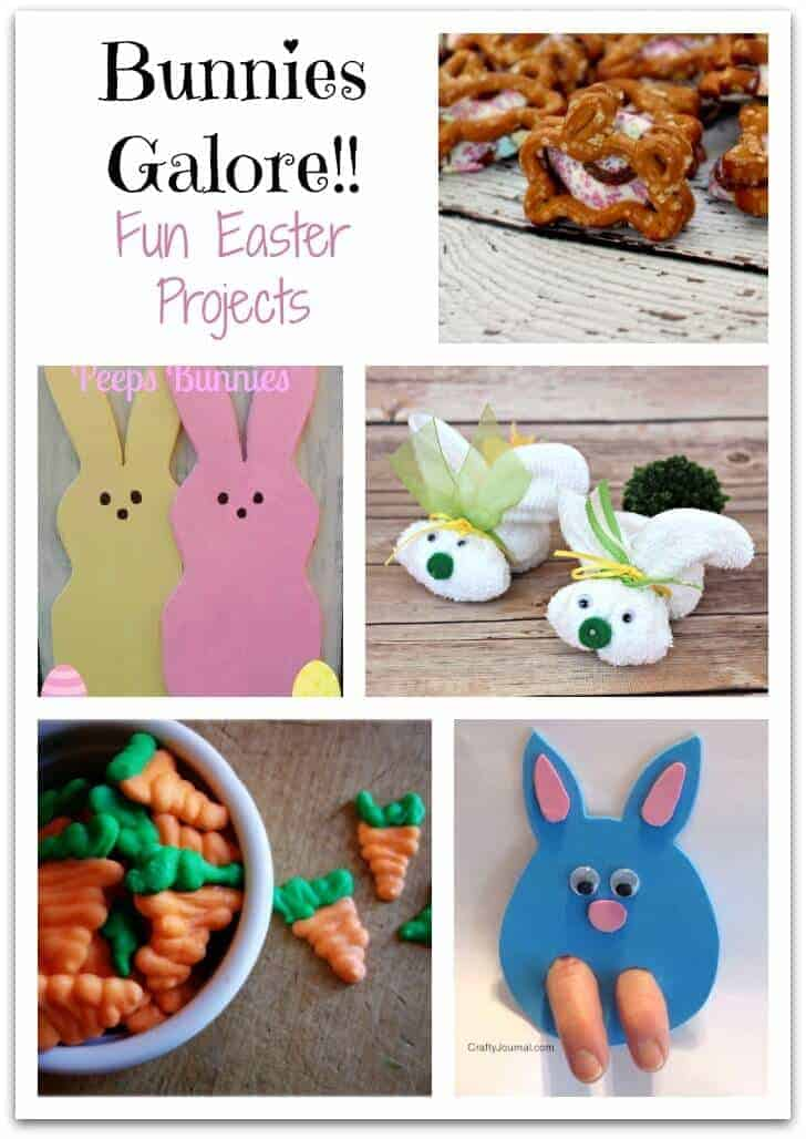Bunnies Galore - Fun Easter Projects