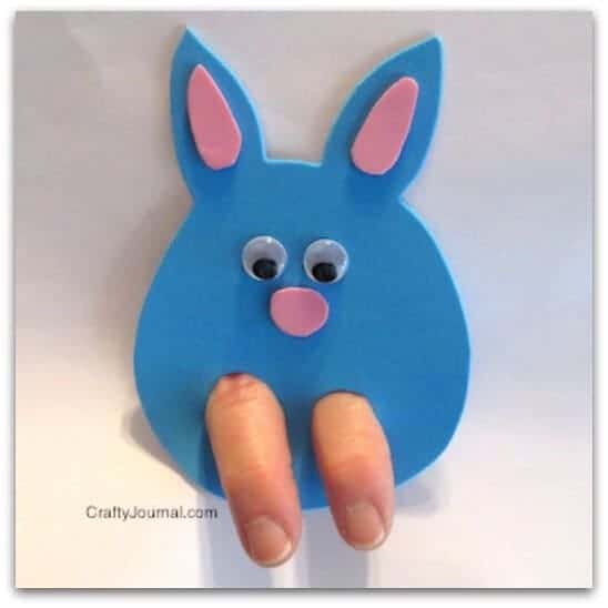 bunny hop finger - Fun Easter Projects