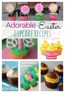 Adorable Easter Cupcake Recipes