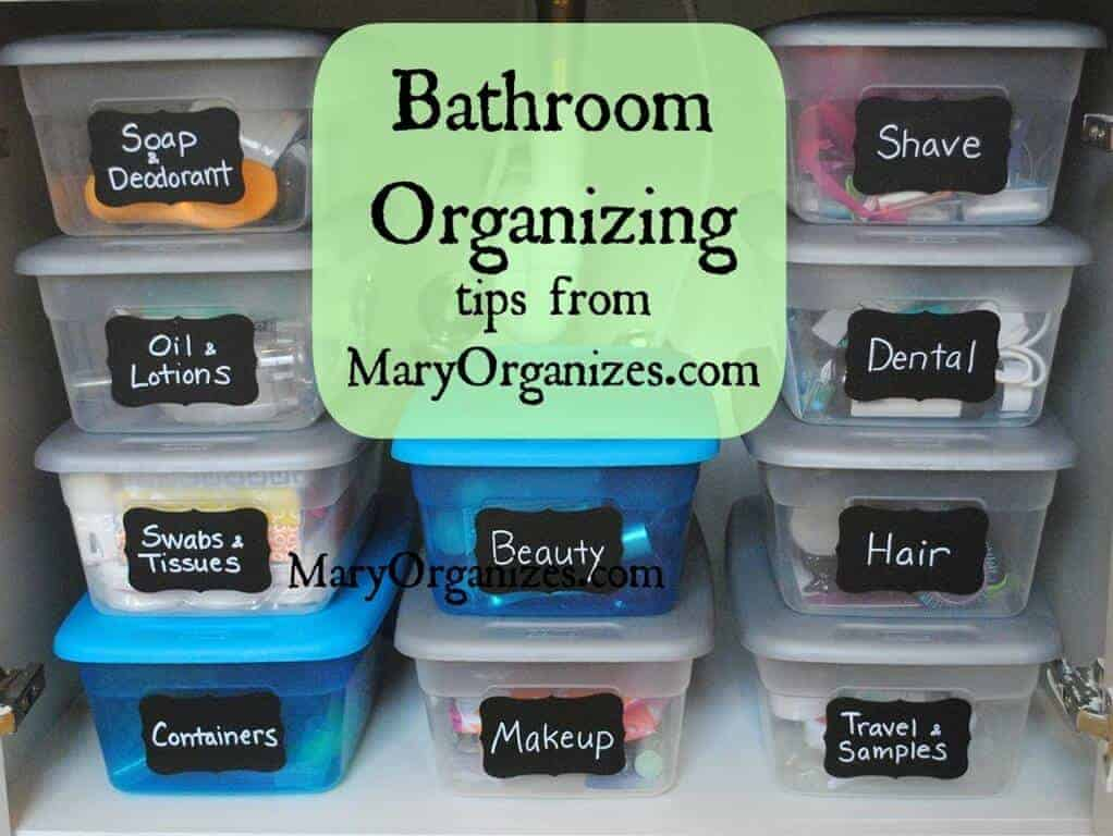 Organization ideas for the bathroom page 2 of 2 Organizing ideas for small bathrooms