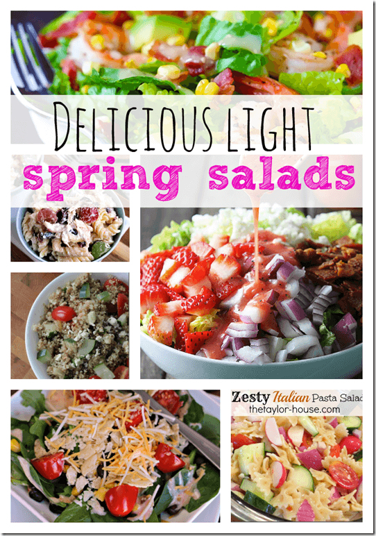 Spring Salad Recipes, Salad Recipes