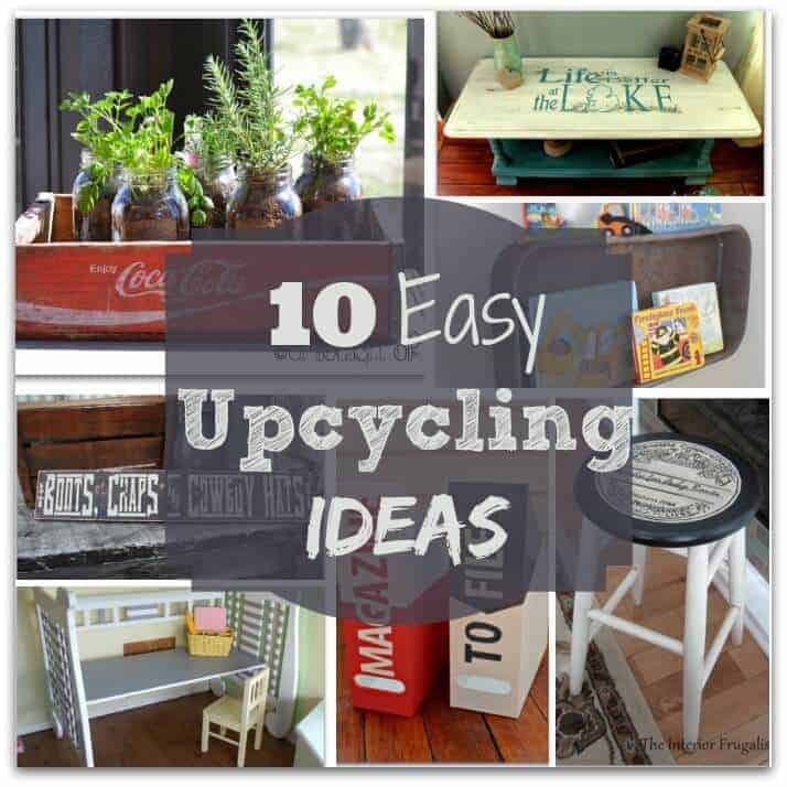10 easy upcycling ideas princess pinky girl - Upcycling ideas for the home ...