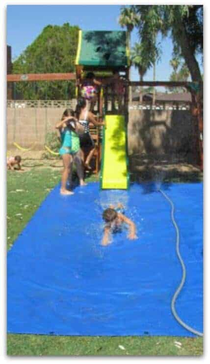 Fun backyard ideas these diy ideas will make summertime a blast for you and your family - The giant slide apartament ...